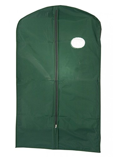 NAHANCO UV340H 40'' Green Poly Suit Cover (Pack of 100) by NAHANCO