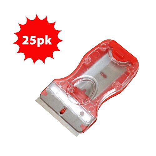 Allpro Mini Glass Razor Blade Safety Scraper w/2 Blades (25pk)