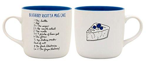 RECIPease Cake Mug (Blueberry Ricotta)