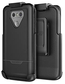 LG G6 Belt Clip Case, (Rebel Series) Dual Layer Impact Armor w/Secure Fit Holster: Amazon.es: Electrónica
