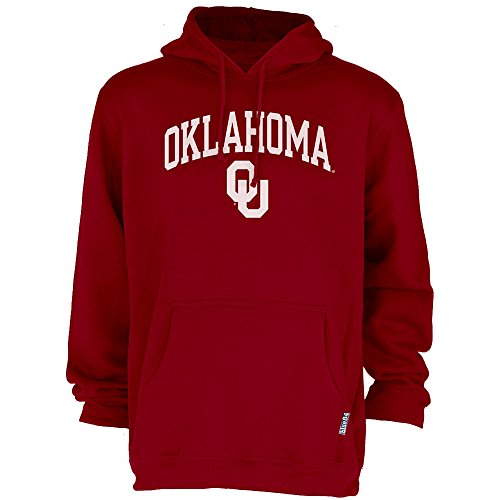 - Elite Fan Shop NCAA Men's Oklahoma Sooners Hoodie Sweatshirt Team Color Arch Oklahoma Sooners Crimson Medium