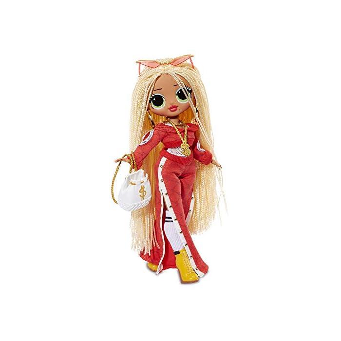 41Oa3k6nutL Omg fashion dolls son las hermanas mayores que tanto admiran las l.o.l surprise Descubre los 4 modelos y las más de 20 sorpresas que tiene cada muñeca Con unos vestidos y accesorios que podrás compartir con tus amigas