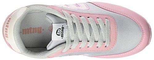Mtng Jogger, Zapatillas de Deporte Unisex Niños Rosa (ACTION PU Rosaaction PU Blanco)