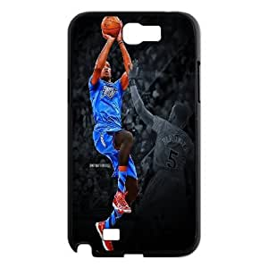 Oklahoma City Thunder Kevin Durant Pattern Productive Back Phone Case For Samsung Galaxy Note 2 Case -Style-2