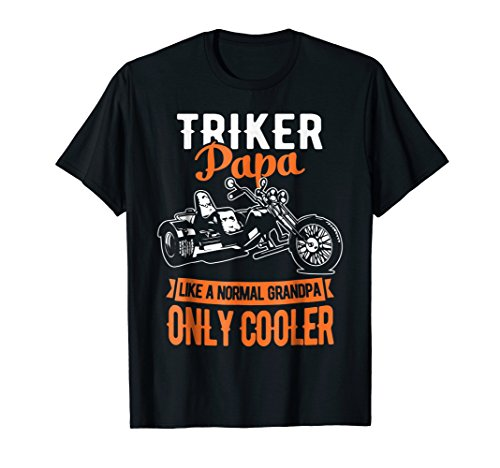 Triker Papa Shirt Motorcycle Bike