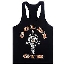 MITIAO Men's GOLO GYM Fitness BodyBuilding Tank Top Y Back Stringer M-XXL