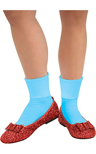 Dorothy Halloween Shoes (Wizard Of Oz, Deluxe Adult Dorothy Sequin Shoes, Red, Small)