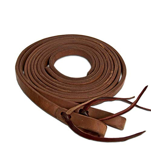 Teskey's Weighted Heavy Oil Split Reins (3/4