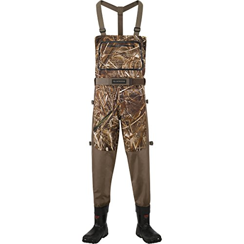 - Lacrosse Waders Alpha Swampfox Drop-Top Realtree Max-5 600G (700082) | Waterproof | Insulated Modern Comfortable Hunting Combat Boot Best for Mud, Snow (Medium = 13)