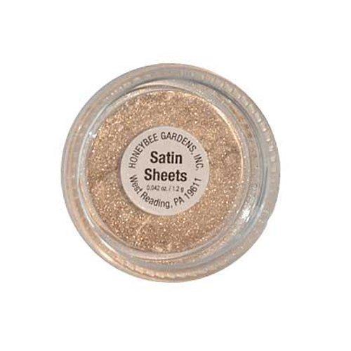 Honeybee Gardens Satin Sheets Powder Colors Stackable Mineral, 2 Gram