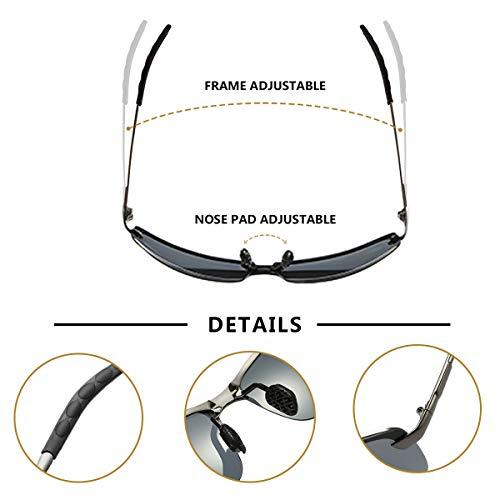 riflesso Day Per DiurnaGuida Sunglasses Occhi Del Protezione Gli Uv400 Riduzione Da Rischio GuidaDi La Visione Anti Polarizzati Occhiali Sicurezza wPkiuTZlOX