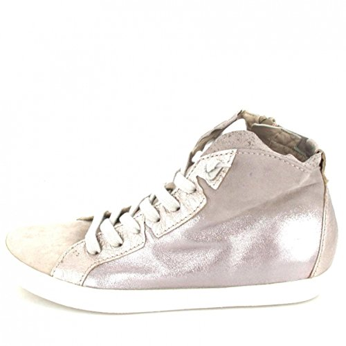 Donna Carolina Sneaker high , Farbe: rosé metallic