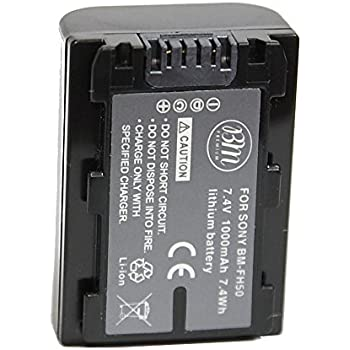 BM Premium Battery 1000mAh for Sony NP-FH30, NP-FH40, NP-FH50