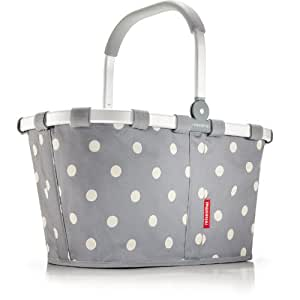 Gray Polka Dot Reisenthel Carry Bag Market Basket