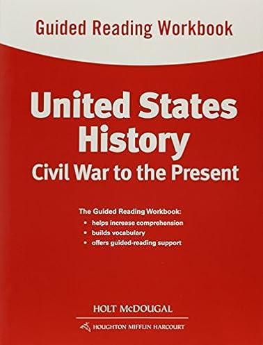 amazon com united states history guided reading workbook civil war rh amazon com american history guided reading workbook answers us history guided reading workbook answers