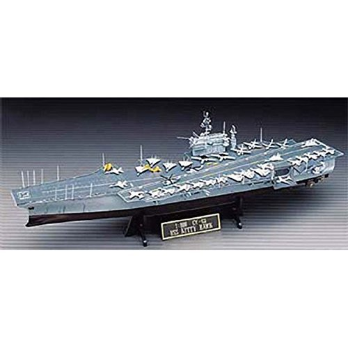 Academy Kids Hobby Warship Playing Toy USS Kitty Hawk CV-63 Scale: 1/800 (Uss Kitty Hawk Cv 63 Model Kit)