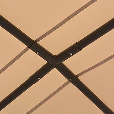 vidaXL Gazebo Pavilion Tent Canopy 13' 1