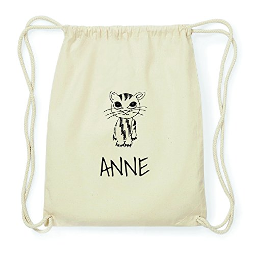JOllipets ANNE Hipster Turnbeutel Tasche Rucksack aus Baumwolle Design: Katze xxmvYx