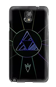 Hot IRJTgmo7148ruQWJ Case Cover Protector For Galaxy Note 3- Triforce Video Game