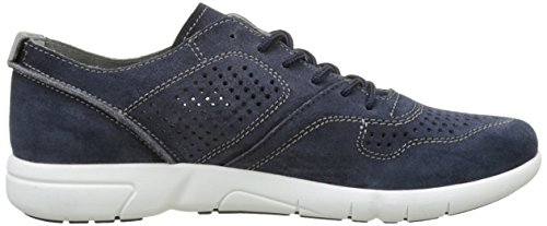 Geox Men's U Brattley a Fashion Sneaker, Navy Blue (Navyc4002)