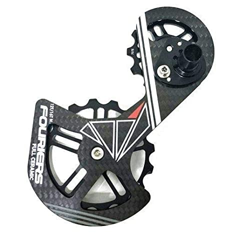 Fouriers Carbon Cage Ceramics Derailleur Pulley For Shimano RD R8050 HCA 8050