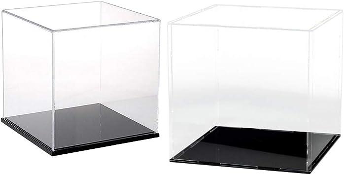 SM SunniMix 2X Cubo Transparente Caso de Acción Caja Display ...