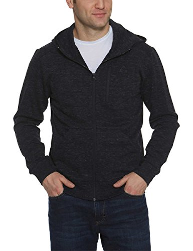 Jacket Licensed Full Zip (Gerry Men's Full Zip Hoody Jacket (Charcoal Heather, Medium))