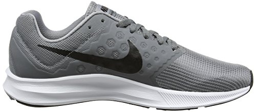 Nike Heren Downshifter 7 Loopschoen Stealth Zwart Cool Grijs Wit