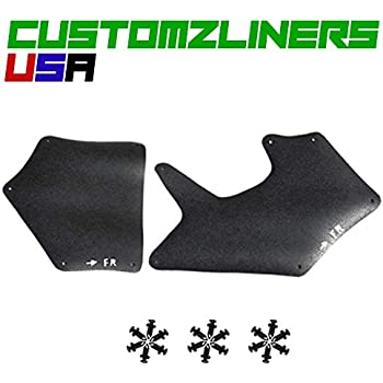 Customzliners USA Front Right Fender Liners Fit for 2007-2019 Toyota Tundra Apron Liner Splash Shield Flap Seal Splash Guard Skirt