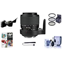 Canon MP-E 65mm f/2.8 1-5x Macro Photo Manual Focus Telephoto Lens USA - Bundle with 58mm Filter Kit, Lens Cleaning Kit, Capleash II, Adjustable Flexible Lens Shade, Professional Software Package