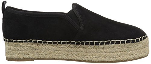 Leather Kid Suede Black Sam Carrin Edelman Mujer Negro Alpargatas xx8RHYq