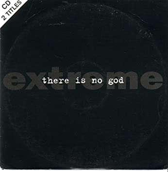 There Is No God ( 2 Track Carded Sleeve Cd Single) Import, Single, B-sides  included