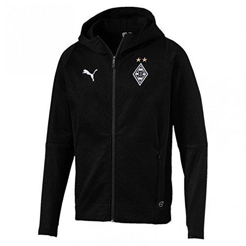 Capuche Logo À Bmg Puma Black shirt Manteau Sweat Sponsor Casuals Sans qHpwtAT