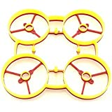 RaGG-e Whoop Frame- Red/Yellow Color