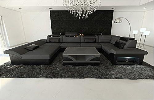 Interni Casa Grigio : Amazon stoffa pelle interni casa enzo forma a u grigio libri