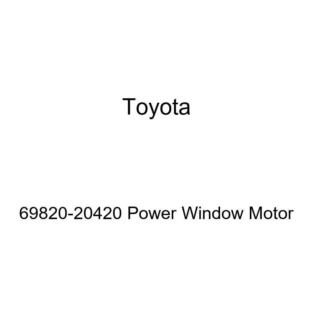 Toyota 69820-20420 Power Window Motor