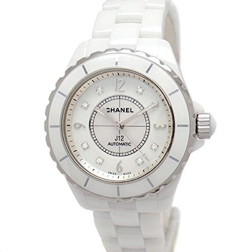 best authentic e6899 a418b Amazon   [シャネル]CHANEL 腕時計 J12 ホワイトセラミック 38mm ...