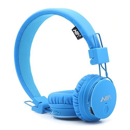 GranVela X2 Over-Ear Bluetooth Headphones, Foldable 4 in 1 Stereo Kids...