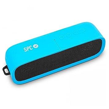 SPC Bang Speaker Altavoz Portátil Azul 4403A - Altavoces portátiles (2.0 Canales, De 2