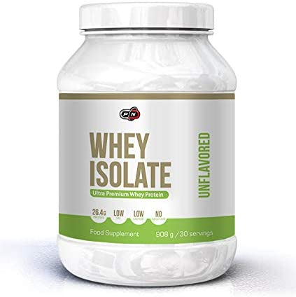 Pure Nutrition WHEY ISOLATE Protein Pulver|Molkenproteinpulver Drink|Molkepulver Muskelaufbau Low Carb Fat Ohne...