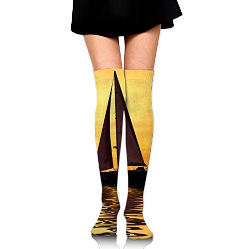 High Elasticity Girl Cotton Knee High Socks Uniform