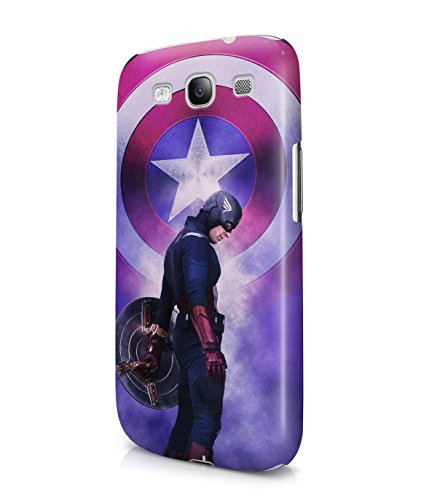 Captain America The First Avenger Superhero Plastic Snap-On Case Cover Shell For Samsung Galaxy S3