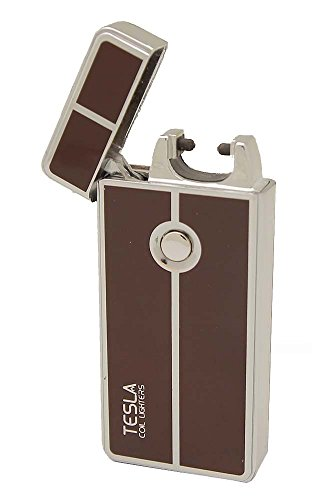 UPC 676758614563, Tesla Coil Lighters™ USB Rechargeable Windproof Arc Cigarette Lighter with Charging Cable And Carrying Pouch