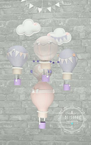 Hot Air Balloon Mobile by Blissful Kiss