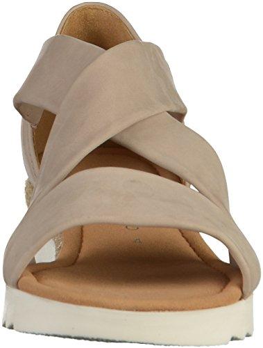 Shoes 62 Mujer Sandalias Gabor Beige 711 O84Uq0