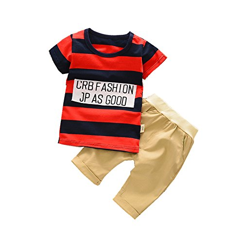 ftsucq-little-boys-girls-letter-striped-pattern-shirt-top-two-pieces-shorts-setsred-90