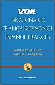 Amazon.com: Vox Diccionario Francais-Espagnol/Espanol