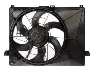 Radiator Cooling Fan Motor Fan Shroud 25380 1D300 For 07-11 Rondo 2.4L 2.7L