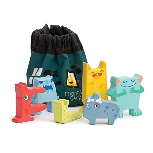 (Tender Leaf Toys Monster Stacker)