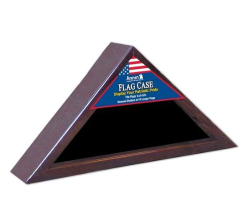wwwusflagscom-Cherry-Wood-Triangle-Flag-Display-Case-for-5×95-Flag